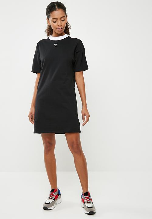 5a4583c69e63 Trefoil dress - Black adidas Originals T-Shirts