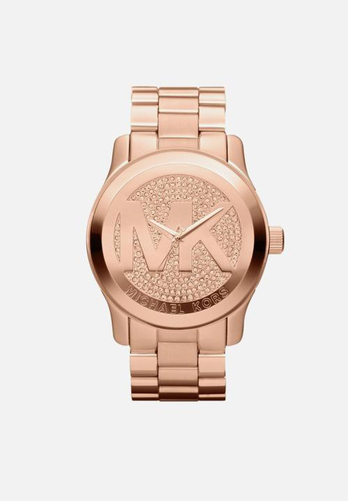 f0184005b807 Michael kors runway women - rose gold stainless steel Michael Kors ...
