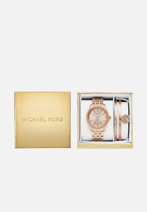 7b4fa2c73960 Michael kors ritz women - rose gold stainless steel Michael Kors ...
