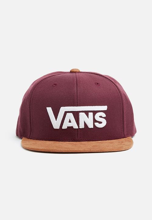 32eb2091451 Drop V ll snapback - port royale   rubber Vans Headwear ...