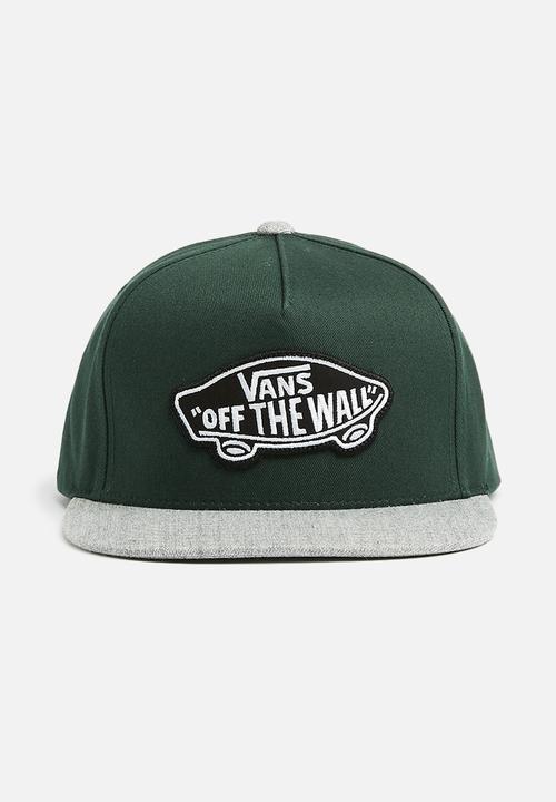 Classic patch snapback - darkest spruce heather Vans Headwear ... 41967452c13