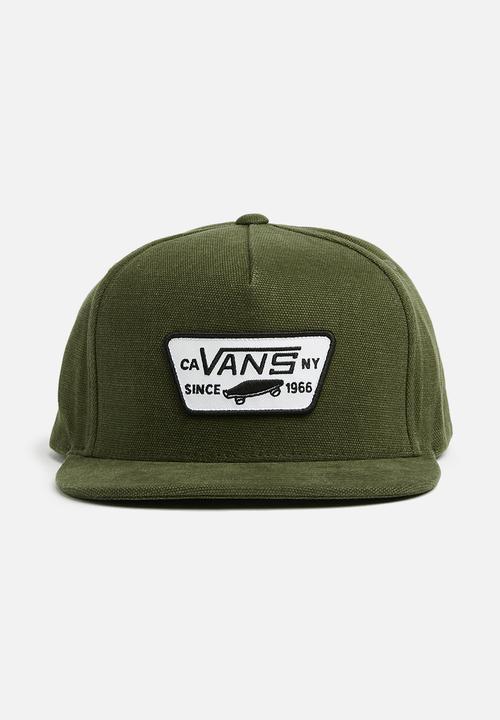 Full patch snapback - grape leaf heather Vans Headwear  edb28e16a38