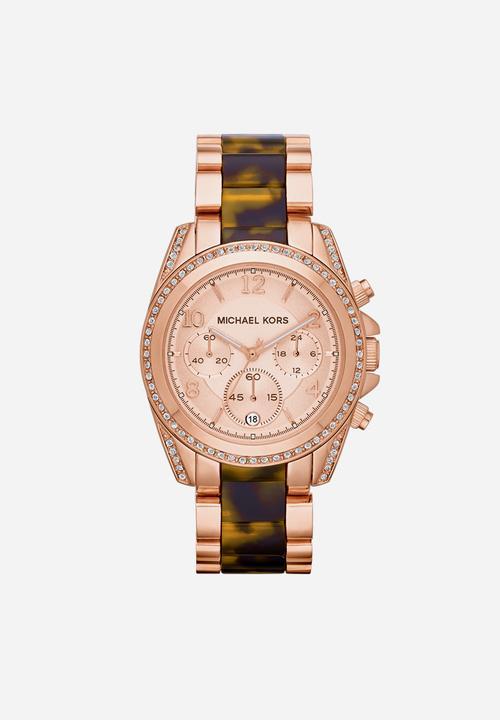 a8d53f1ddf66 Michael kors blair women - rose gold mixed Michael Kors Watches ...
