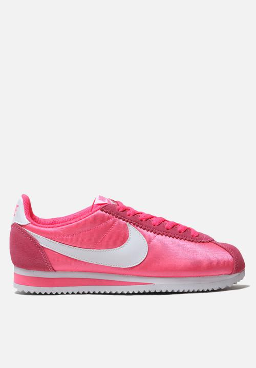 official site cheap prices new styles Nike Classic Cortez Nylon - Laser Pink / White