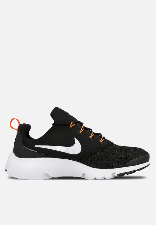 76087a2c436b3 NIKE PRESTO FLY JDI - AQ9688-001 - Black  White  Total Orange Nike ...