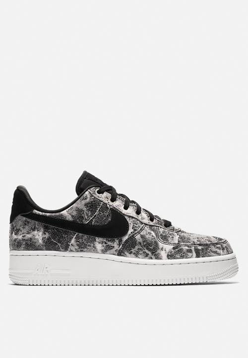 Nike Air Force 1  07 LXX - AO1017-001 - Black   Mtllc Pewter Nike ... 8f2dccb50