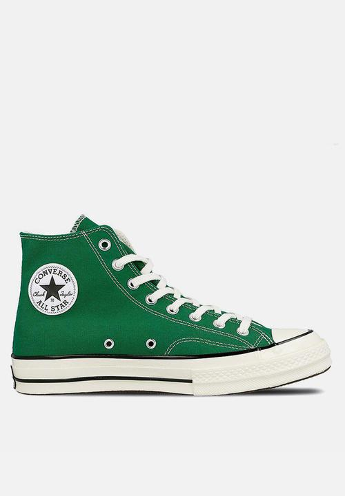 44aa0b9700bd Converse CTAS 70 HI -Summer league-green black egret Converse ...