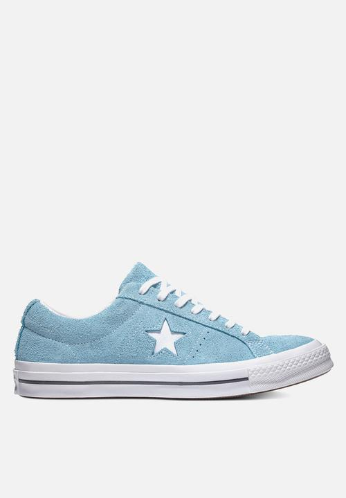 466e06a71f7 Converse One Star Suede OX-Vintage suede-shoreline blue white ...