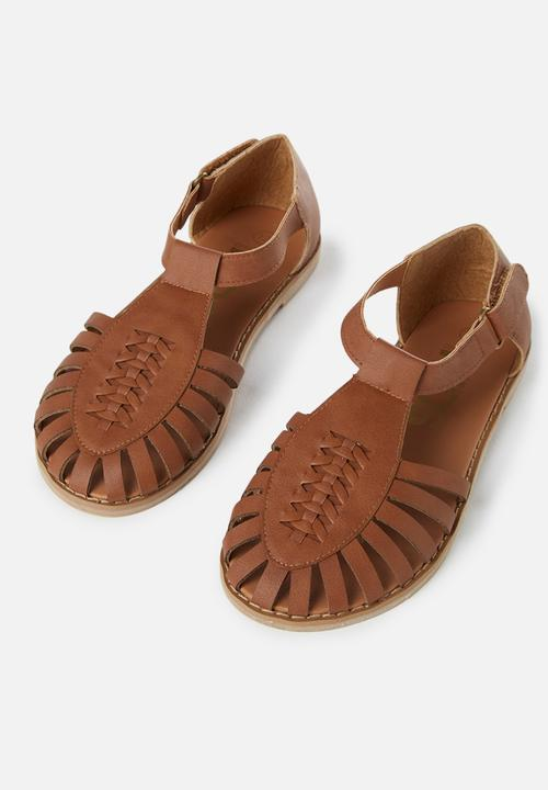cb41ec388 Liana sandal - Tan Cotton On Shoes