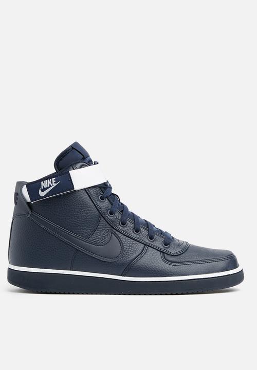 eb86dbf09 Nike Vandal High Supreme Leather - AH8518-400 - Obsidian   White ...