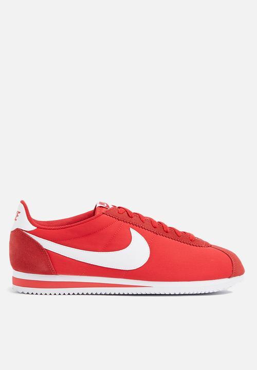 on sale e013f be6b4 Nike - Classic Cortez Nylon - University Red  White