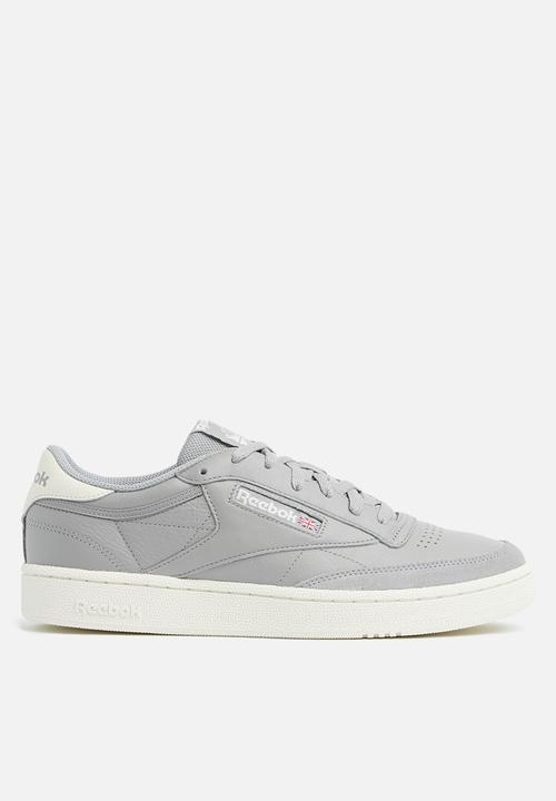 Reebok Club C 85 MU - Tin Grey   Chalk Reebok Classic Sneakers ... 5f7db4ce2