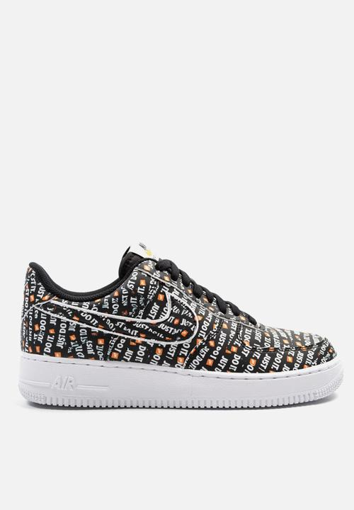 e6569fdd17ff Nike Air Force 1  07 LV8 JDI - AO6296-001 - Black   White   Total ...