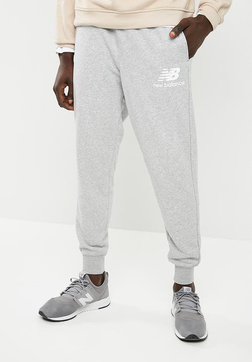 704497f38fe13 Essentials sweatpants- athletic grey New Balance Sweatpants & Shorts ...