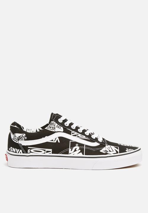 a36e49c2a331 Vans old skool (logo mix) - black - true white Vans Sneakers ...