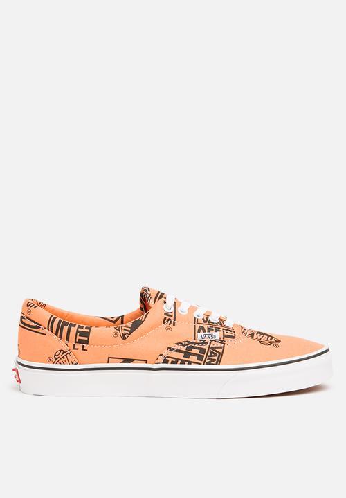 5152a499c759 Era (logo mix) - tangerine - black Vans Sneakers