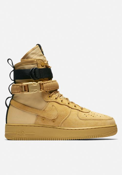 half off 84bfb d06c3 Nike - Special Field Air Force 1 - Club Gold   Black