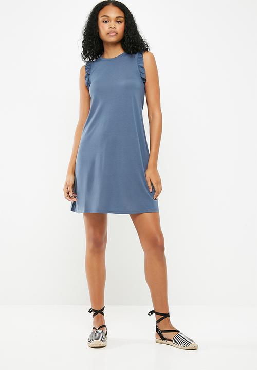 499f8df329 Calm dress - Vintage indigo Jacqueline de Yong Casual