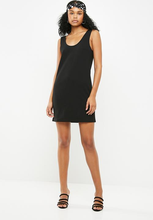 f69c7e80c2 Saint short sleeve dress - black Jacqueline de Yong Casual ...
