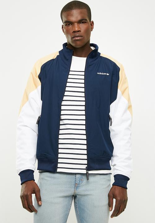 879c6e05d82d EQT Woven Rip Jacket - Collegiate Navy adidas Originals Hoodies ...