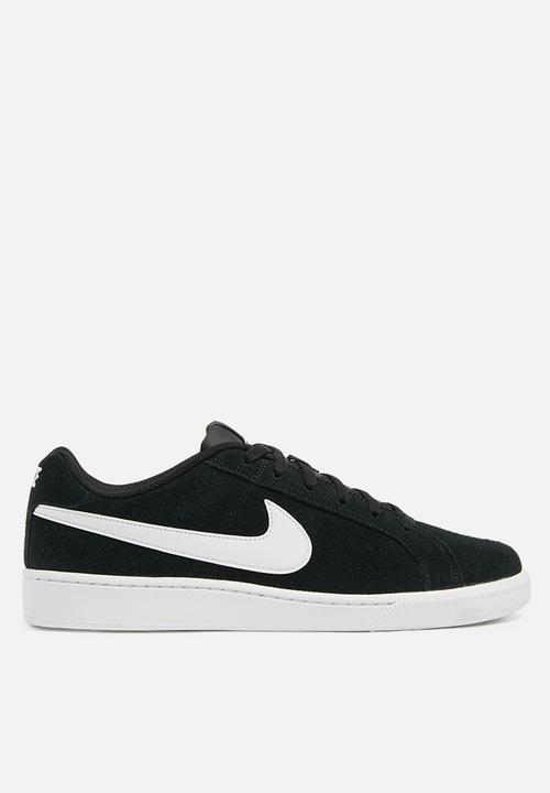 more photos a1269 c855e Nike - Court Royale Suede - black   white