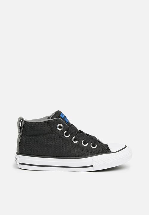 b5bdeda800b16f Converse - Chuck Taylor All Star Street Mid - black hyper royal white