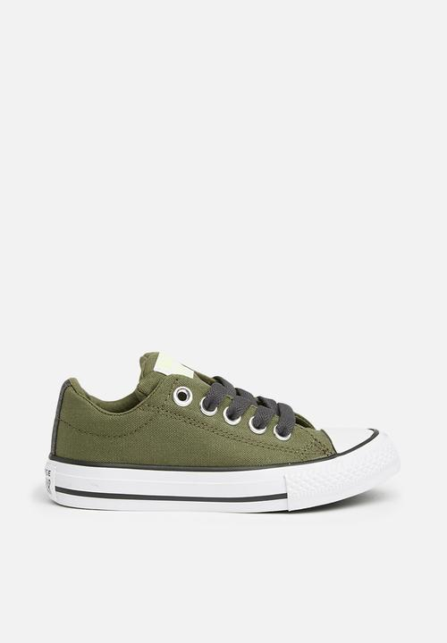 4942adcddc54 Converse - Chuck Taylor All Star Street Slip - field surplus almost black.  ON OFFER