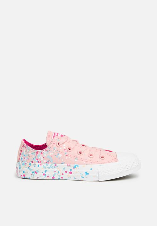 22ac9e7bf03b Kids Chuck Taylor All Star Ox - storm pink pink pop white Converse ...
