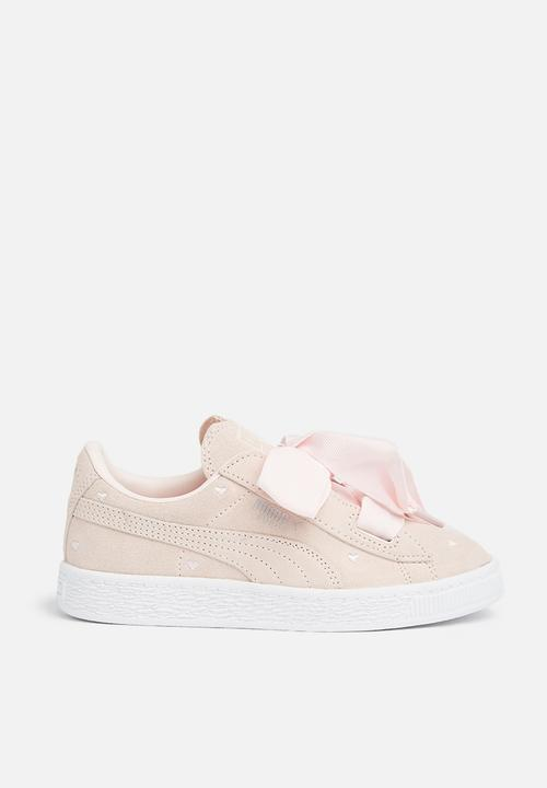 Suede Heart Valentine PS - pearl light pink PUMA Shoes  b0ebfef19