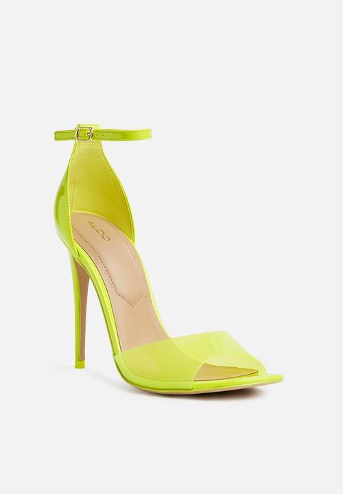 45084558a2b8 ALDO - Ligoria stiletto heel - neon yellow