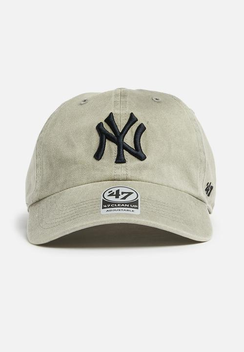 hot sale online 9752e 6d0db 47 Brand - MLB  47 Clean Up New York Yankees - taupe