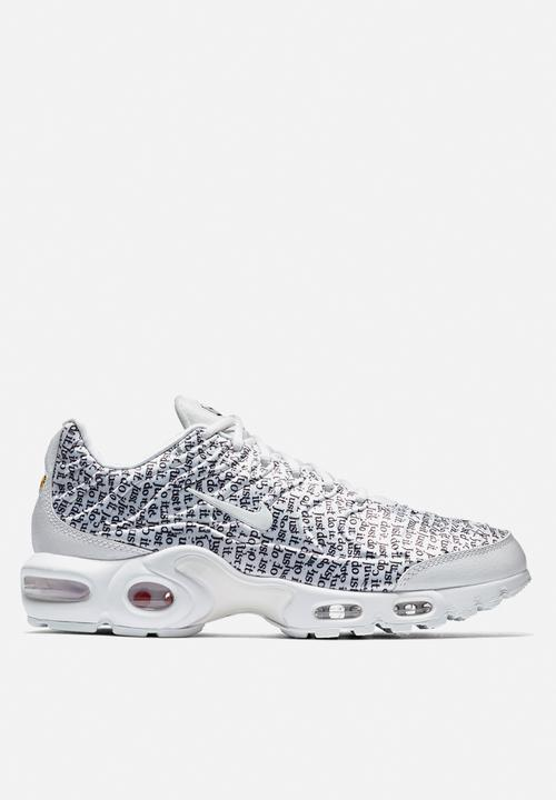 b2c7147fc1 Women's Nike Air Max Plus SE JDI - 862201-103 - white / black Nike ...