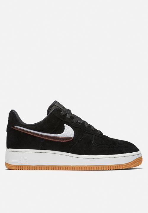 reputable site 8b48f 7d95c Nike - Nike Air Force 1 07 Lux - black  gum yellow  summit