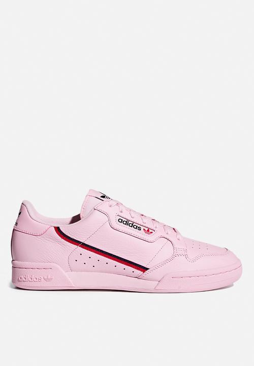 Adidas Originals Continental 80 Clear Pink Scarlet Collegiate Navy