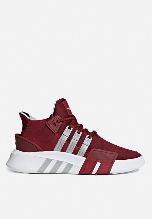 adidas Originals - EQT bask ADV - noble maroon, grey two f17   ftwr white e830f438c8