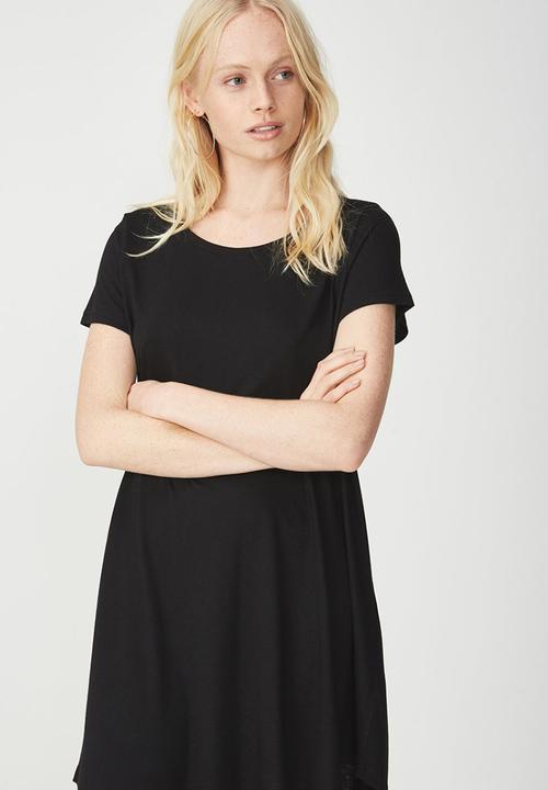 049f2dff26 Tina summer T-shirt dress 2 - black 2 Cotton On Casual   Superbalist.com
