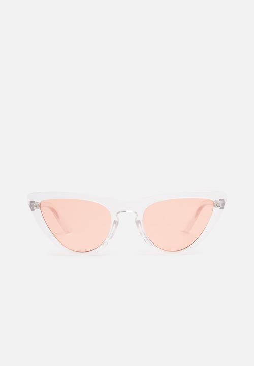 037ed99a8ca12 Sammi catseye sunglasses-clear pink Superbalist Eyewear ...
