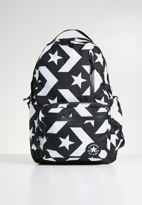 b7f77b86fd09 Go backpack - 10006931-A01 - converse black white Converse Bags ...