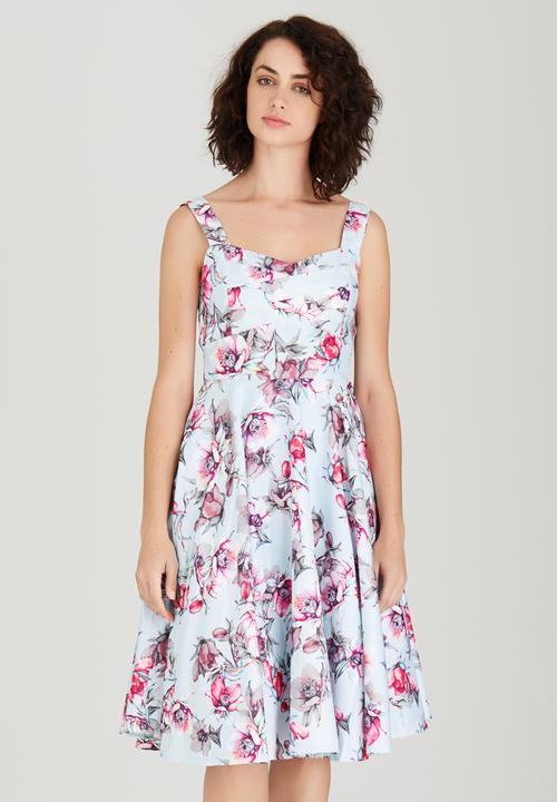 Pastel Floral Dresses