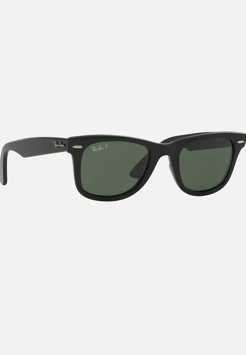 f2aaf150b7 Ray-Ban Polarized Wayfarer Sunglasses Black Ray-Ban Eyewear ...