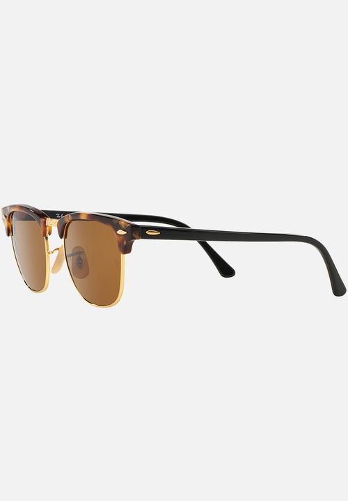 c03dd6e36f Ray-Ban Clubmaster Sunglasses Brown Ray-Ban Eyewear