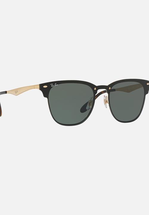 f4d930ec24 Ray-Ban Clubmaster Blaze Black Ray-Ban Eyewear