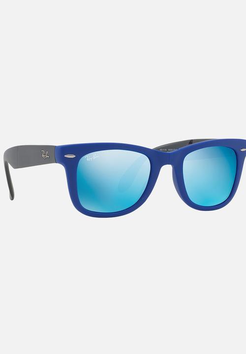 e92662cfb Wayfarer Folding 50mm Sunglasses Blue Ray-Ban Eyewear | Superbalist.com