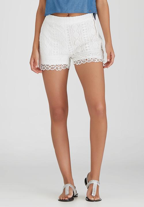 Tilly Crochet Shorts Off White Sissy Boy Shorts Superbalistcom