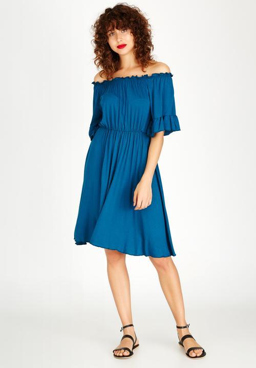 e16ca4c24730 Bardot Dress Turquoise edit Casual