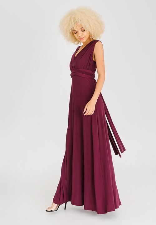 0bcd9ddb958 Infinity Dress Burgundy Marique Yssel Occasion