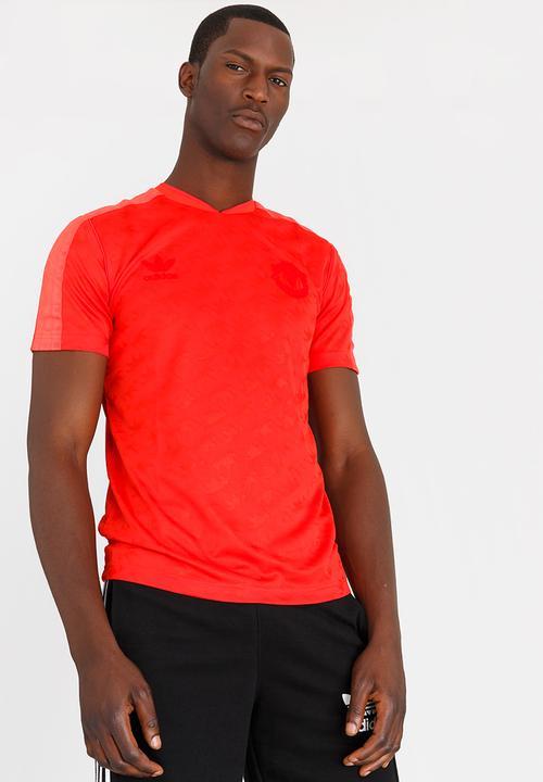 24168294ec9 Manchester United jersey - red adidas Originals T-Shirts ...