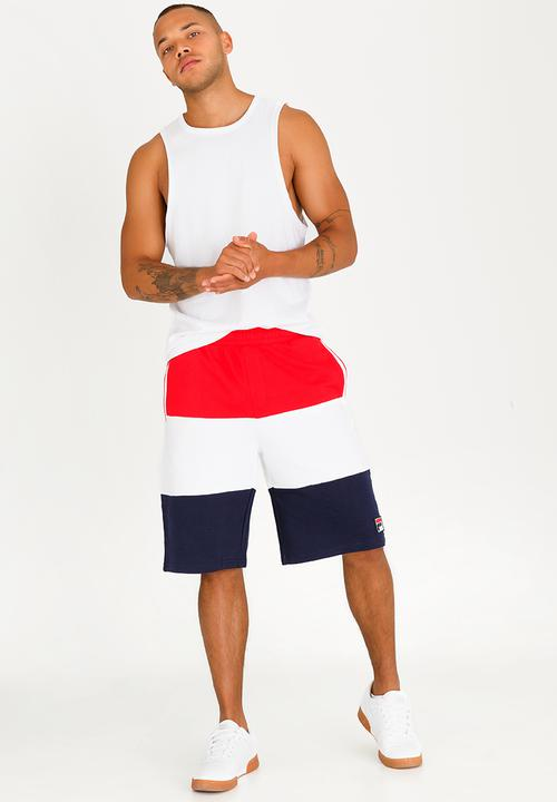8cf5e6be39ea Stefano Cotton Shorts Red FILA Shorts   Superbalist.com