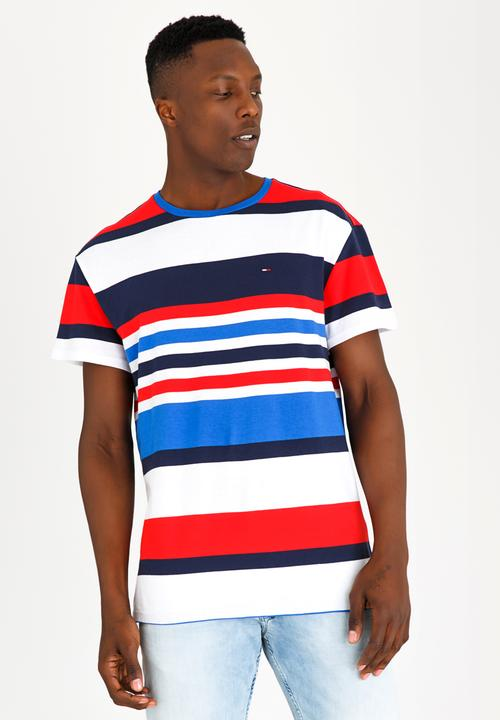 05ee05fdcd Multi Stripe Tee Multi-colour Tommy Hilfiger T-Shirts & Vests ...