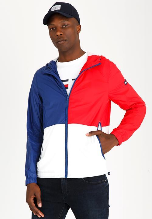 24d6c344 Lightweight Anorak Jacket Multi-colour Tommy Hilfiger Jackets ...